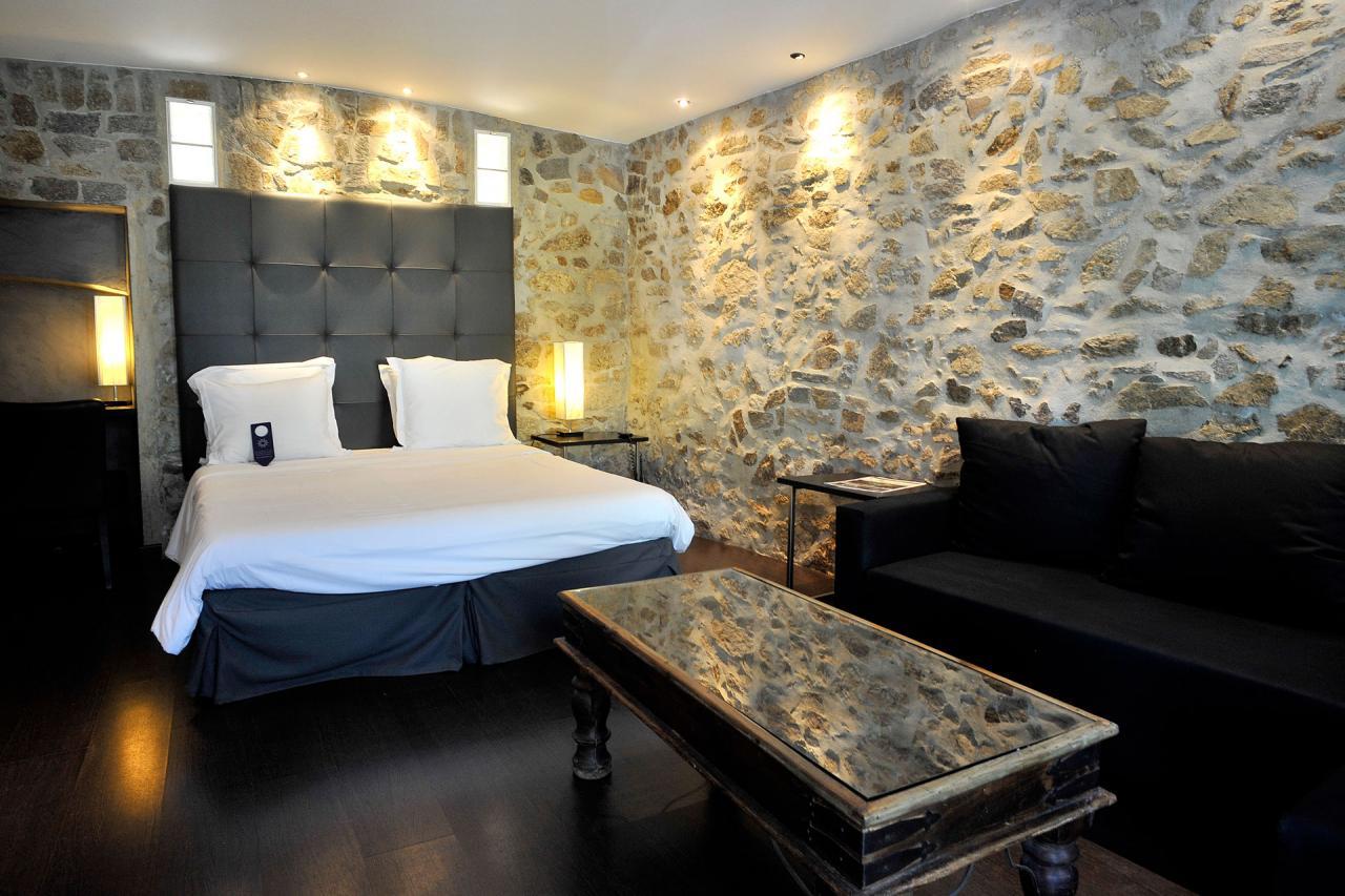 Chambre hôtel Saint Tropez